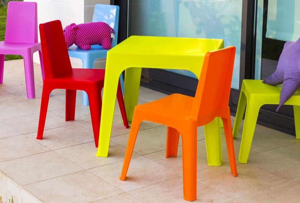 Chaise En Plastique Enfant Fauteuil D